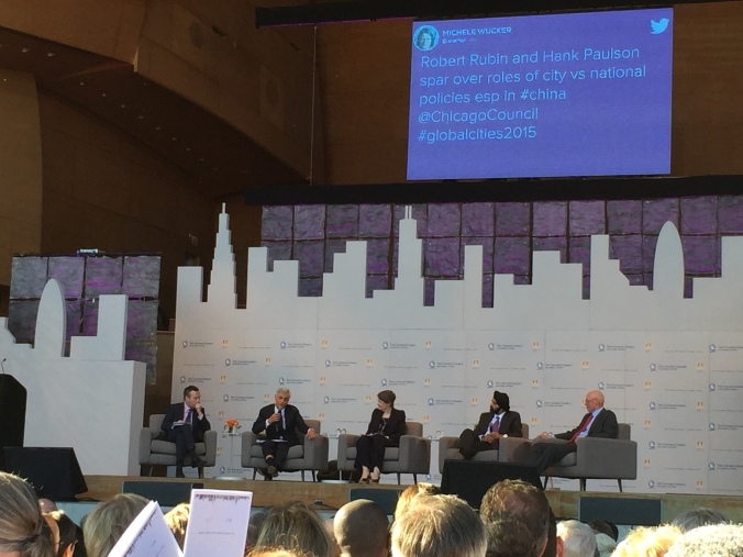 Chicago Forum on Global Cities 2015